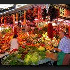 Vegetables, fruits and spices - Santa Caterina market