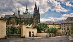 Veitsdom zur Prager Burg