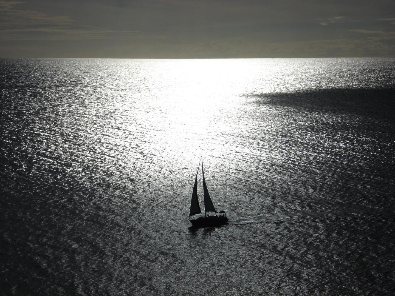 Veleggio in mare caraibico