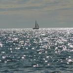 velerito desde la playa de puerto madryn CHUBUT -PATAGONIA