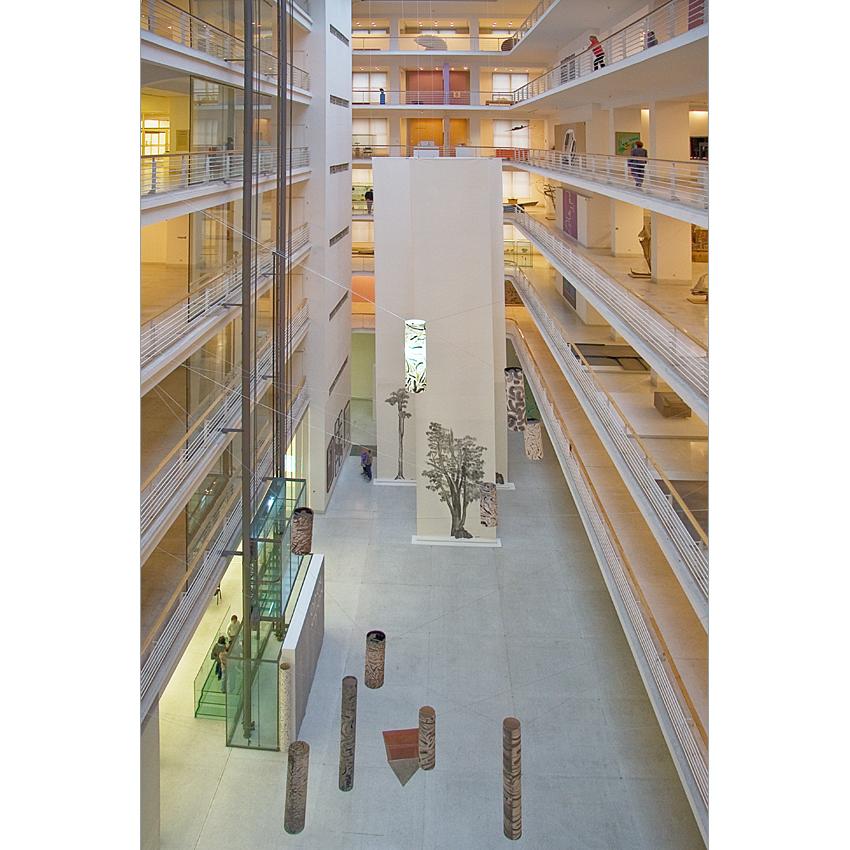 Veletržní palác , die Tschechische Nationalgalerie für moderne Kunst