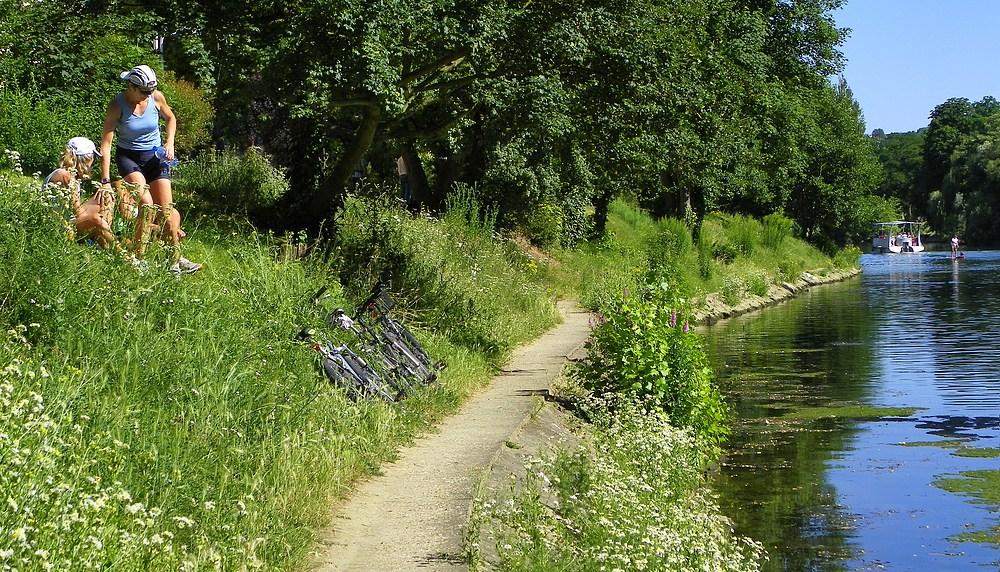 Vélo ou bateau ?