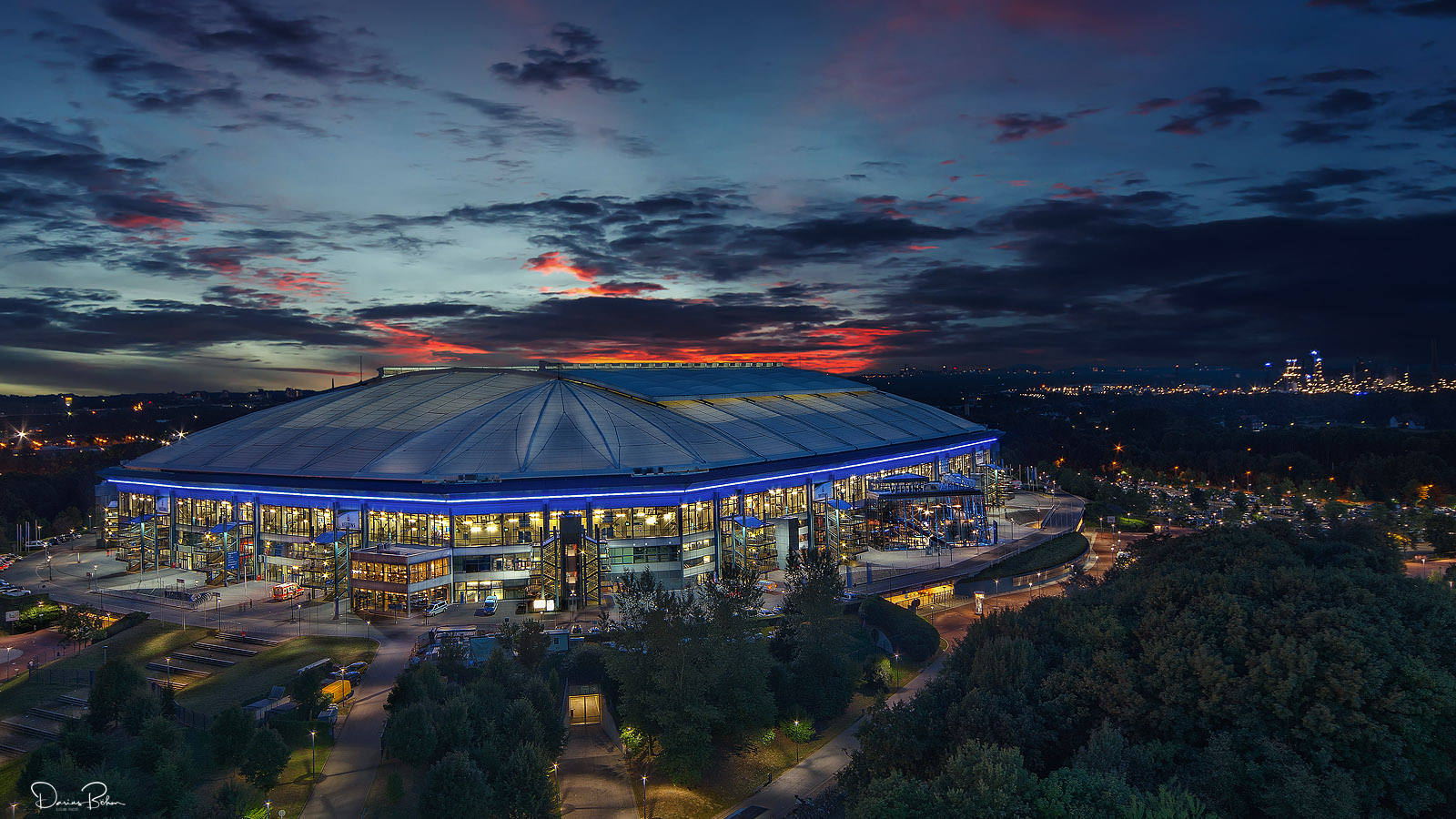 veltins arena gelsenkirchen foto bild architektur architektur bei nacht architektur bei. Black Bedroom Furniture Sets. Home Design Ideas