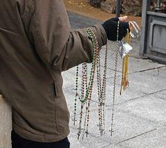 Vendedor de rosarios