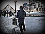 Vendeur de marrons, au Louvre...