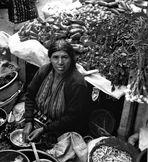 vendeuse au marché