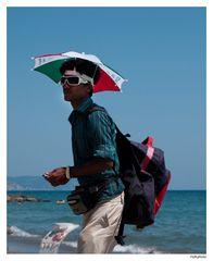 ..venditore da spiaggia..