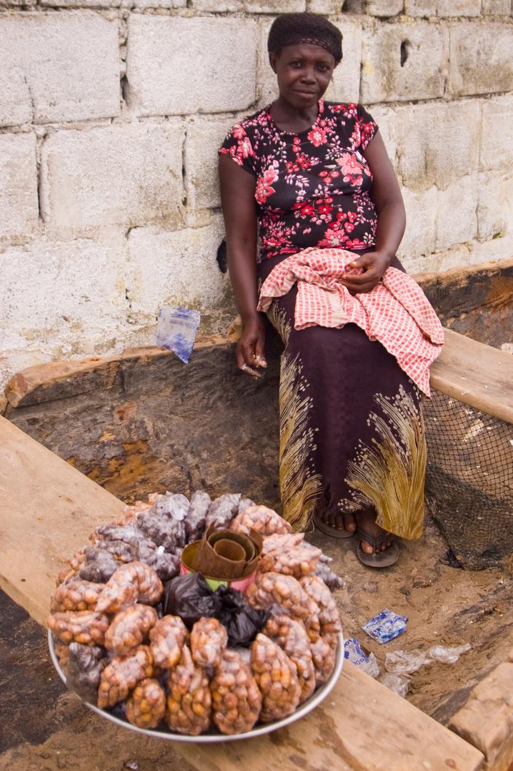 Venditrice di snack - Accra