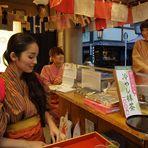 venditrici di tè
