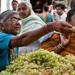 Venditrici d'uva