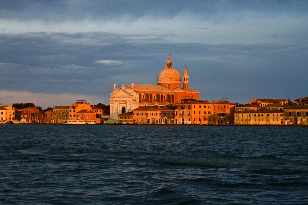 Venecia a la luz del atardecer.