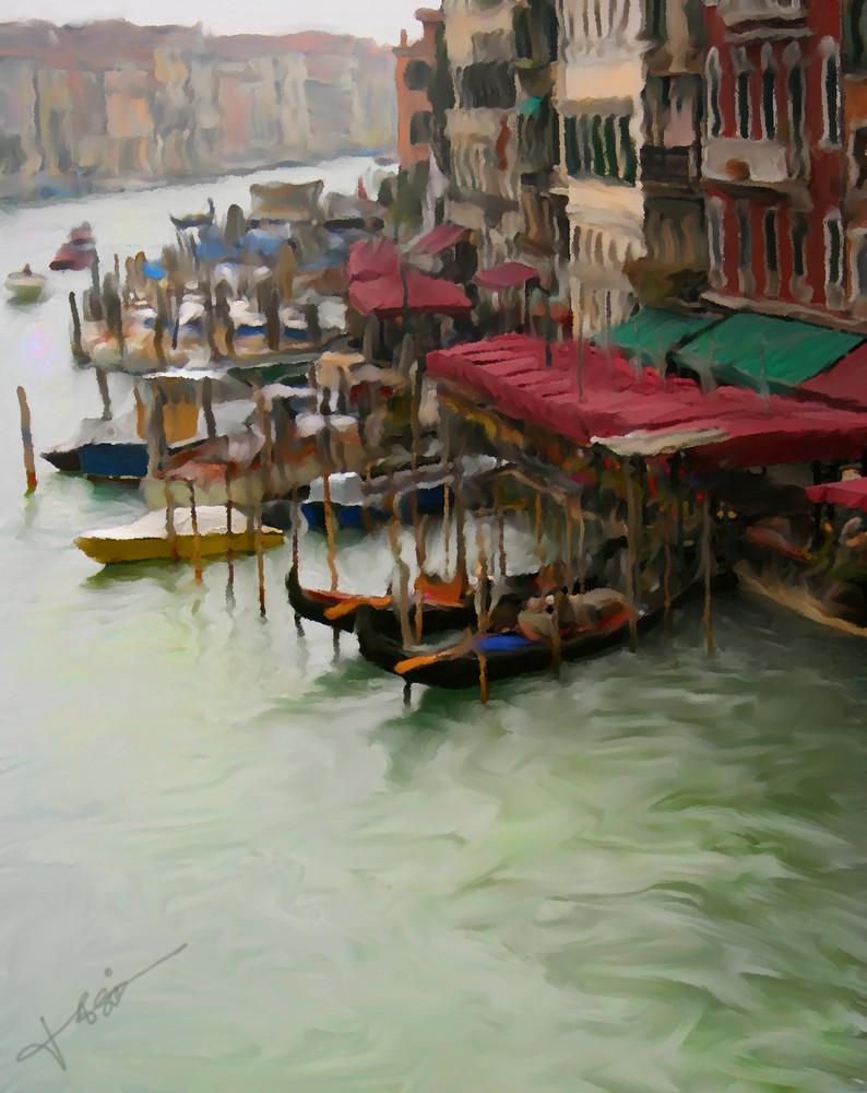 Venecia desde el gran puente