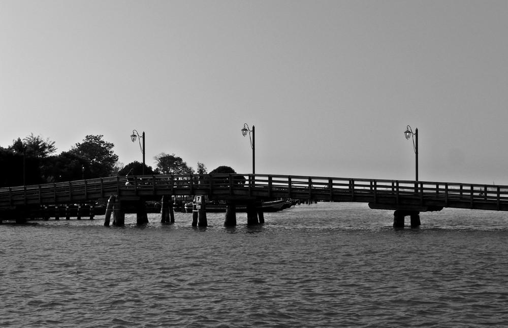 Venecia en blanco y negro I