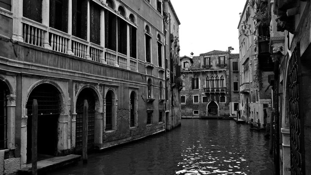 Venecia en blanco y negro IV