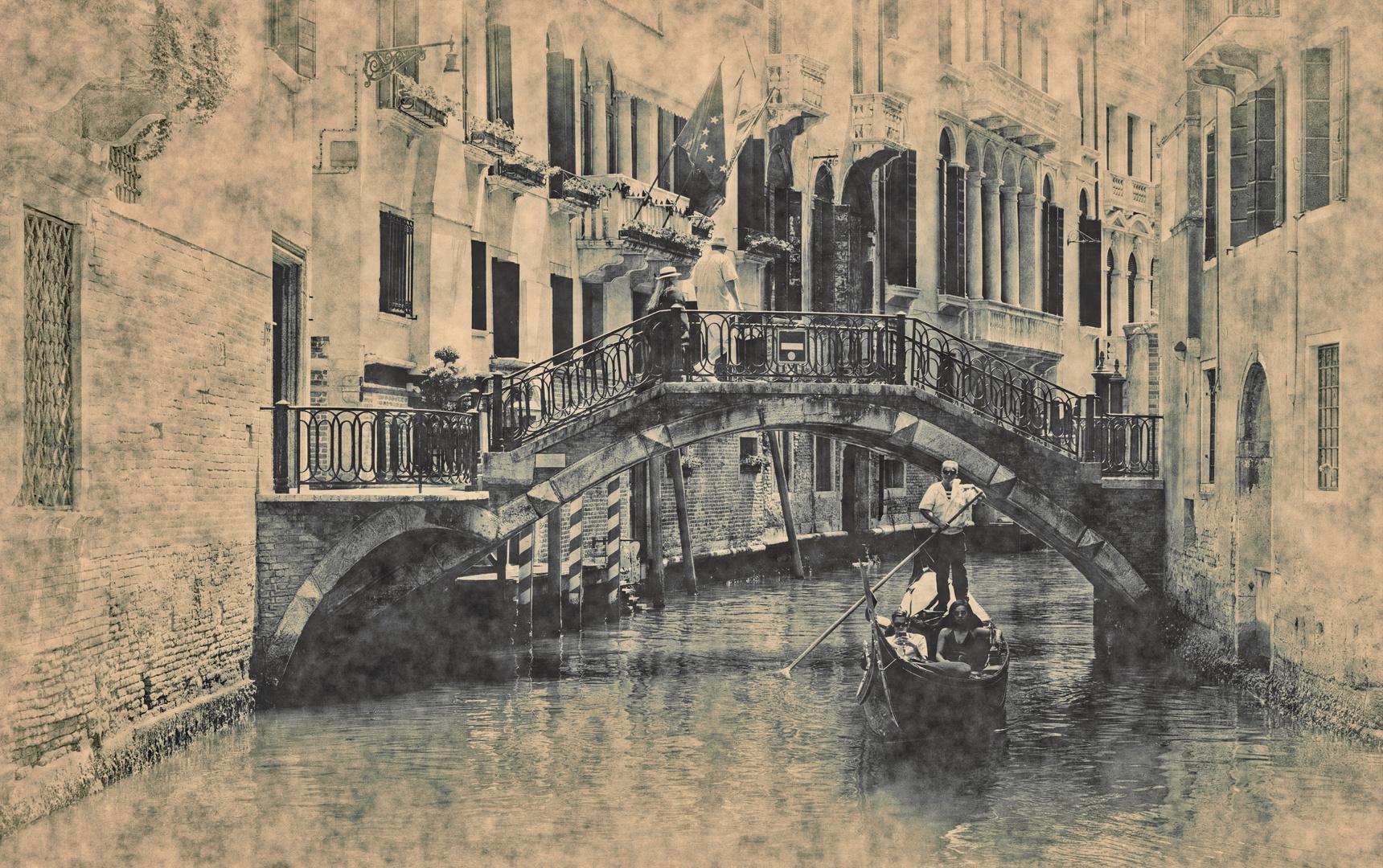 Venedig   - anno dazumal -