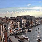 VENEDIG  Atemberaubender Blick auf den Canal Grande