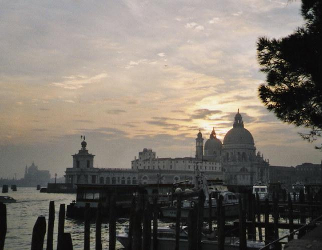 Venedig beim Einnachten...