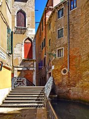 Venedig, beschauliche Gassen