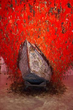 VENEDIG, Biennale. Japanischer Pavillon : Schlüsselgeburt
