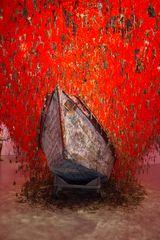 VENEDIG, Biennale. Japanischer Pavillon : Schlüsselgeburt II