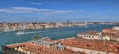 VENEDIG - Blick auf die Lagunenstadt -