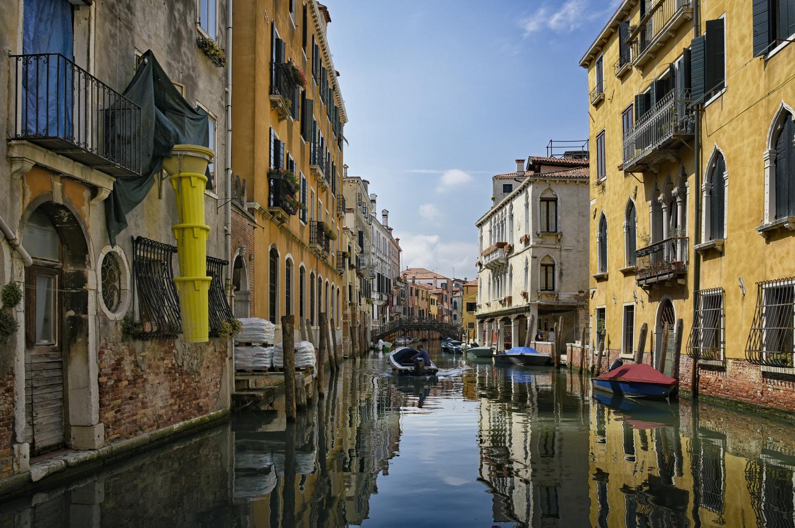 Venedig die Welt steht still