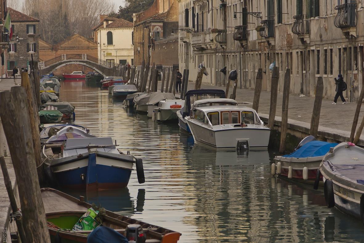 Venedig - ein idyllischer Kanal