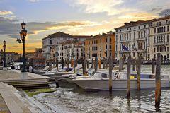 Venedig, ein schöner Tag geht zu Ende