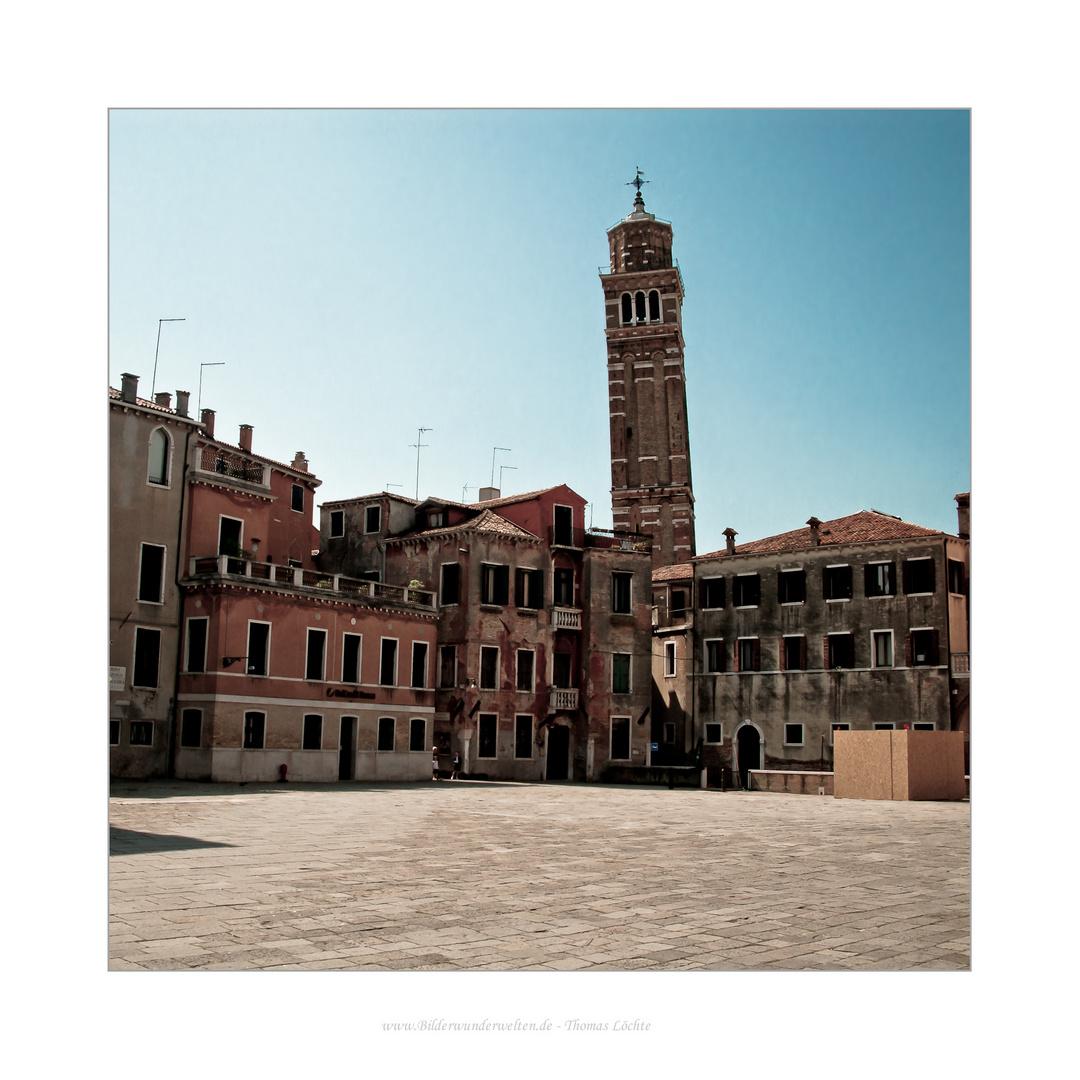 Venedig - einer der vielen Plätze...