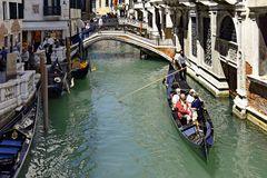 Venedig, Fahrt mit einer Gondel
