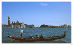 Venedig - Gondoliere 1