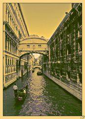 Venedig - Gondoliere 2