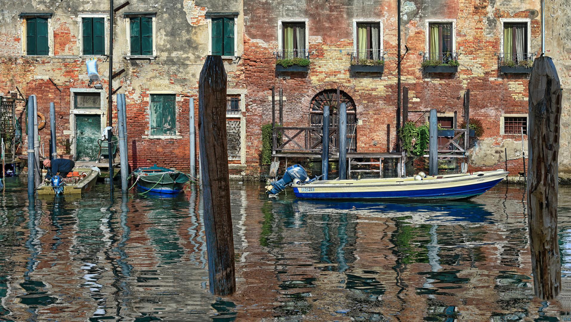 Venedig  - Hingabe an Vergänglichkeit -