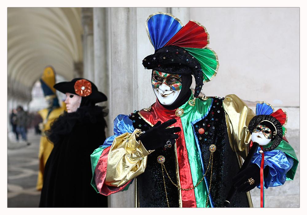 Venedig - im Karneval - Masken ohne Grenzen