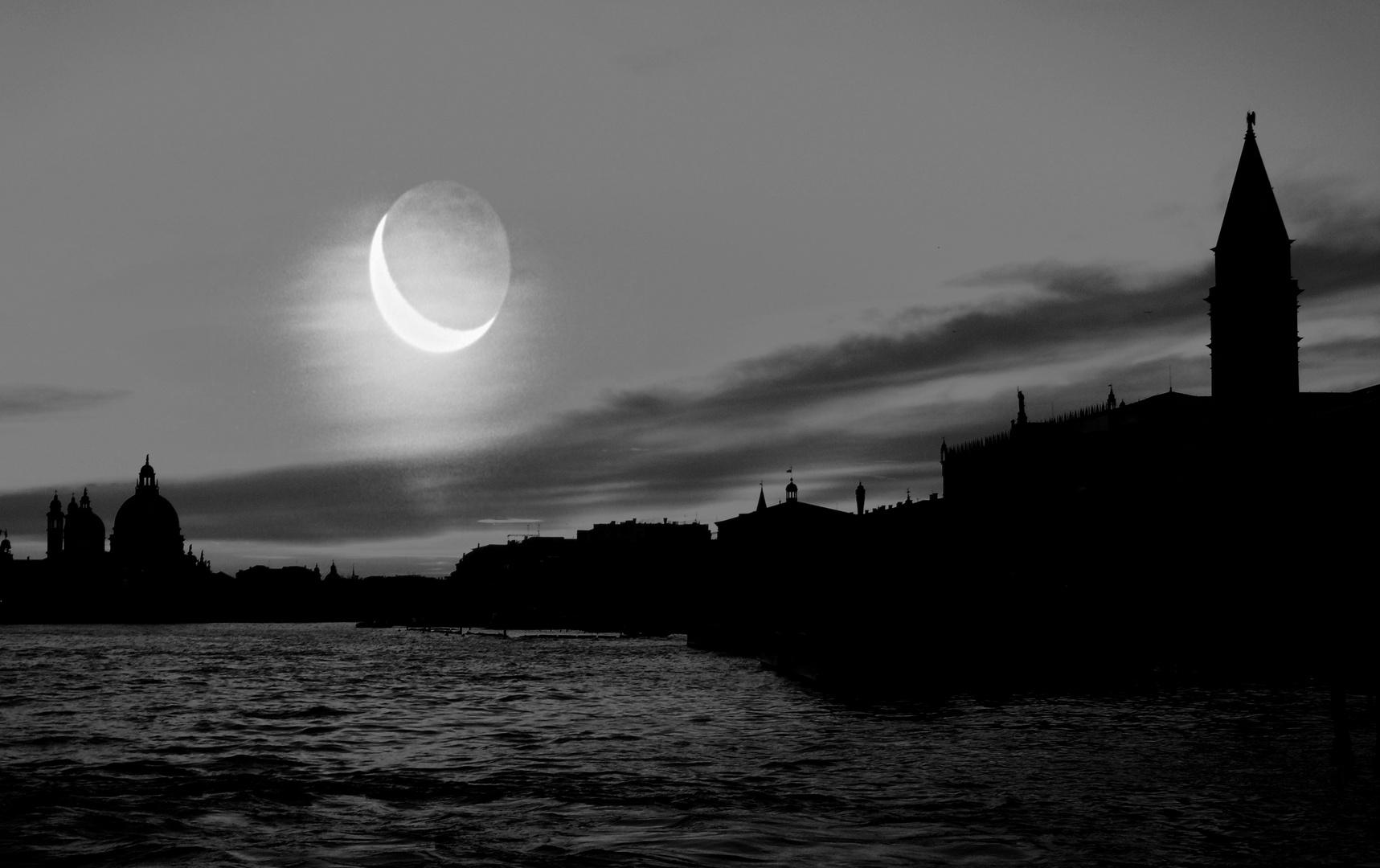 Venedig im Mondschein