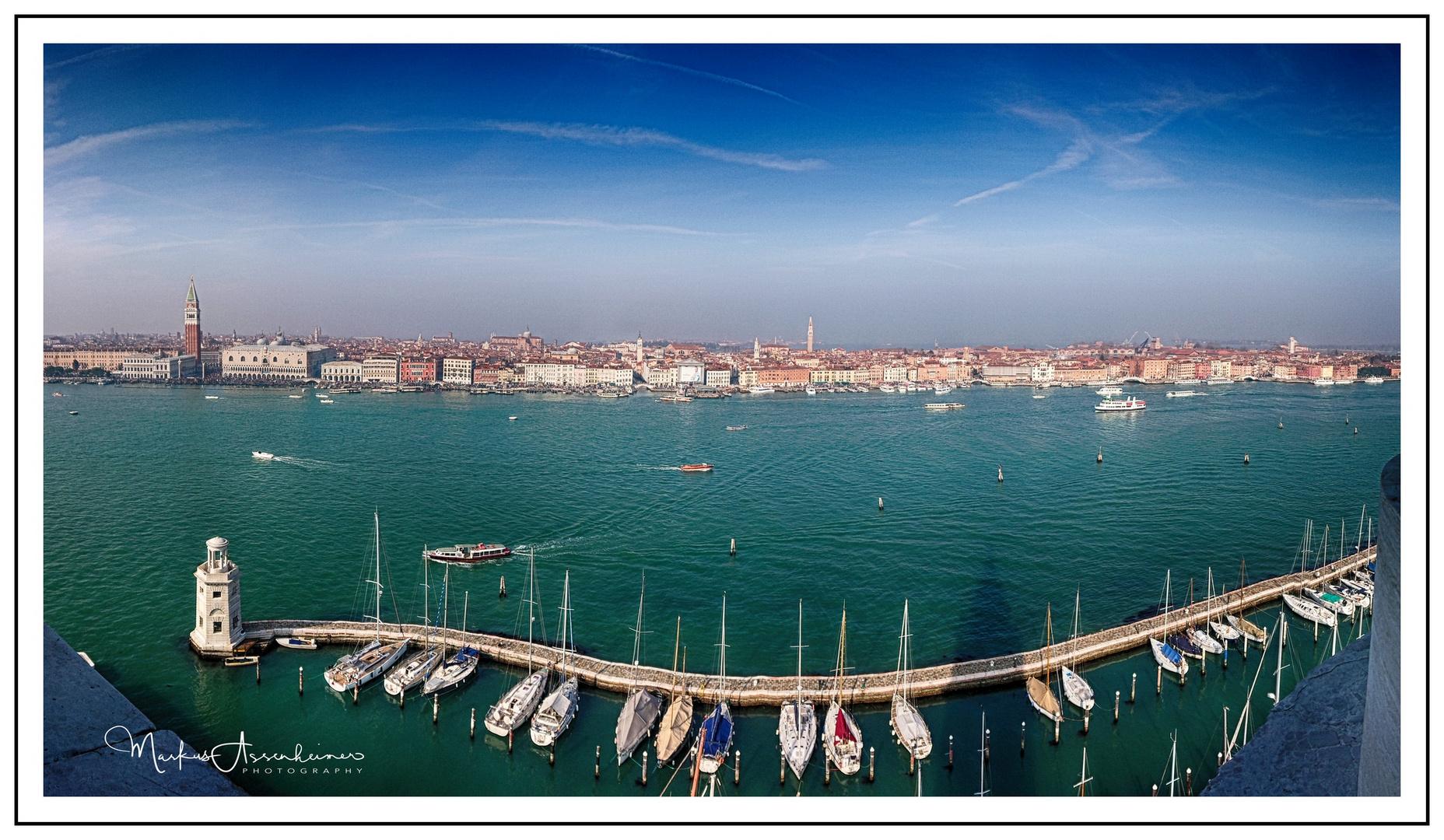 Venedig Jachthafen Giudecca