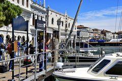 Venedig, Jachthafen und Dogenpalast