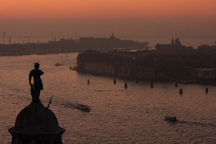 Venedig kommt zur Ruhe