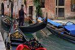 VENEDIG   - La Gondola -