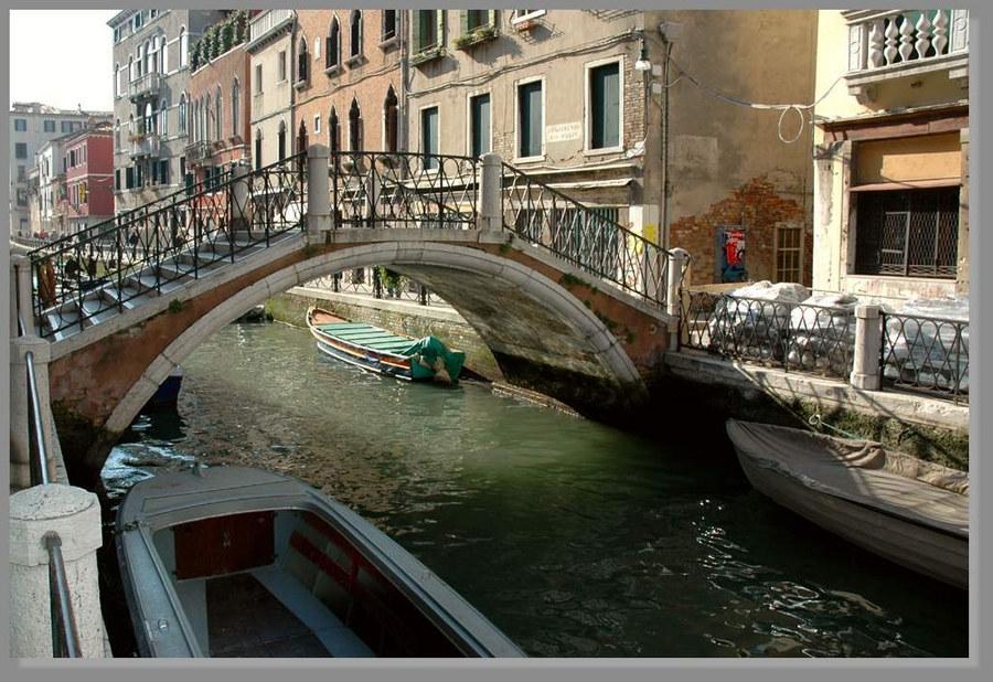 Venedig mal ohne Touristen