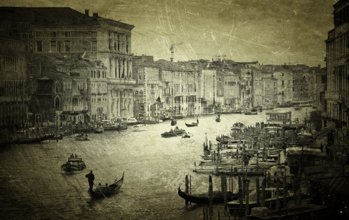 Venedig mit Picfx