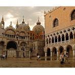 Venedig - nach dem stürmischen Regen.