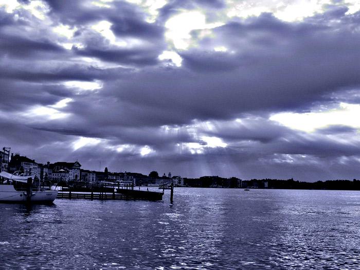 Venedig nach Wolkenbruch