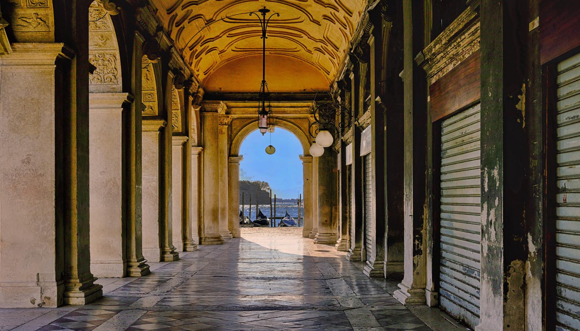 Venedig November 2020 - Durchblick -