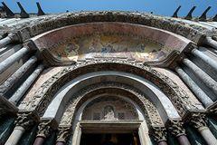 Venedig . Portal des Markus-Doms