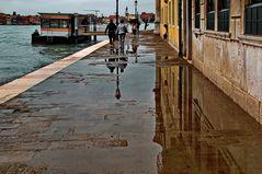 Venedig, rain