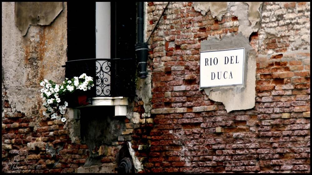 Venedig - Rio del Duca