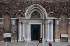 Venedig Santi Giovanni e Paolo4  Portal
