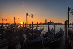 Venedig Sonnenaufgang San Michele