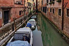 Venedig, stiller Seitenkanal